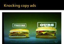 comparative advertisement